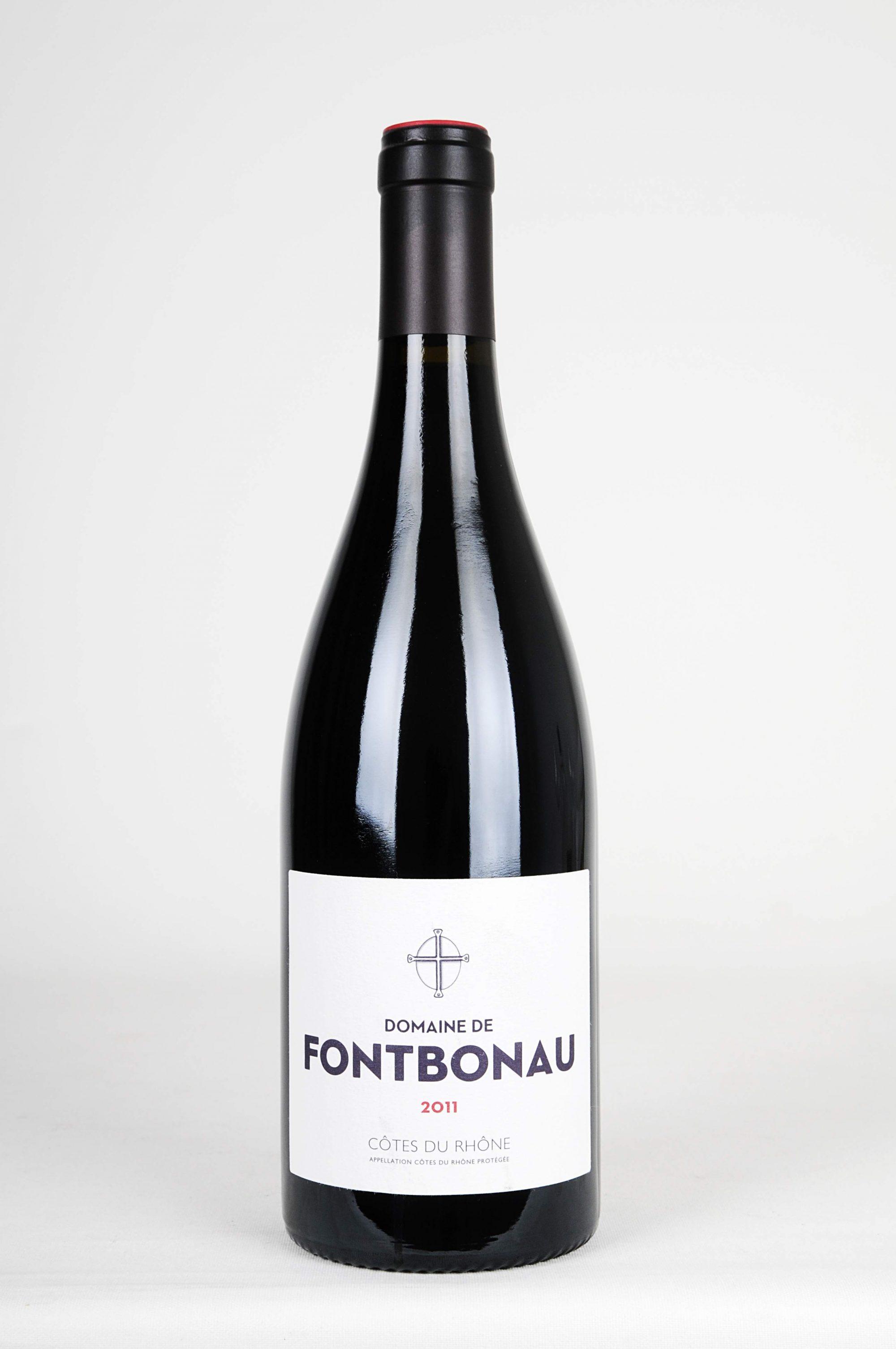 domaine-fontbonau cotes-du-rhone 2011
