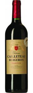 Rødvin: Château Cailleteau Bergeron 2016, Blaye Côtes de Bordeaux