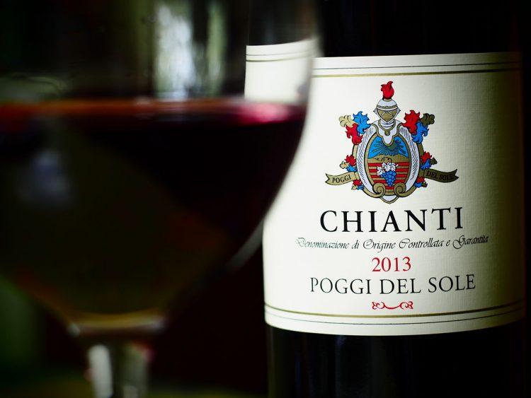 Nyhed: Chianti-vinflaske