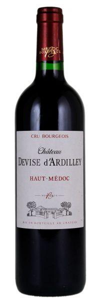 Rødvin: Château Devise d'Ardilley, Cru Bourgeois 2010, Haut-Médoc