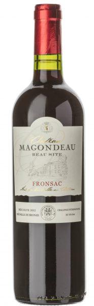 Rødvin: Château Magondeau, Beau Site 2014, Fronsac