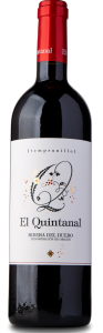 Rødvin: El Quintanal, Tempranillo 2018, Ribera del Duero