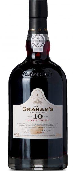 Portvin: W.& J. Graham's, 10 Years Tawny Port