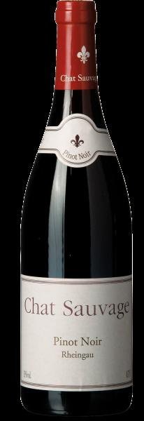 Rødvin: Chat Sauvage, Pinot Noir 2015, Rheingau
