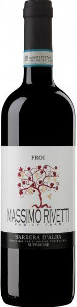 Rødvin: Massimo Rivetti, Froi 2017, Barbera d'Alba Superiore