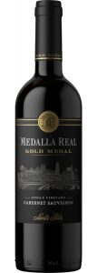 Rødvin: Medalla Real, Gold Medal, Cabernet Sauvignon 2015 Limited Edition, Santa Rita, Valle del Maipo