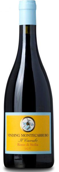 Rødvin: Vinding Montecarrubo, Il Carrubo 2018, Terre Siciliane