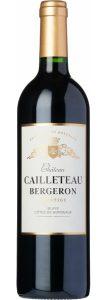Rødvin: Château Cailleteau Bergeron, Prestige 2017, Blaye Côtes de Bordeaux