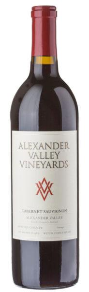 Rødvin: Alexander Valley Vineyards, Cabernet Sauvignon 2017, Alexander Valley, Sonoma County