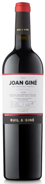 Rødvin: Joan Giné, Les Nostres Arrels 2014, Buil & Giné, Priorat
