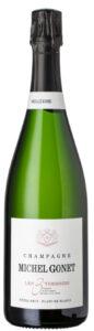 Mousserende: Michel Gonnet, Les Tois Terroirs, Extra Brut Millésime 2010, Blanc de Blancs, Champagne