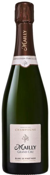 Mousserebnde: Mailly, Grand Cru, Blanc de Pinot Noir, Champagne
