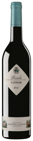 Rødvin: Marchesi di Barolo, Cannubi 2015, Barolo
