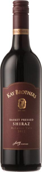 Rødvin: Kay Brothers, Basket Pressed Shiraz 2014, McLaren Vale
