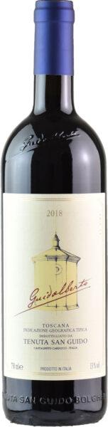 Rødvin: Guidalberto 2018, Tenuta San Guido, Toscana