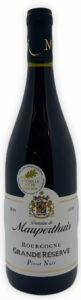 Rødvin: Domaine de Mauperthuis, Grande Réserve Pinot Noir 2018, Bourgogne