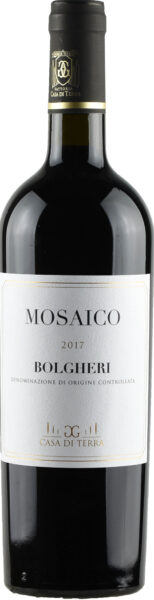 Rødvin: Mosaico 2017, Casa di Terre, Bolgheri