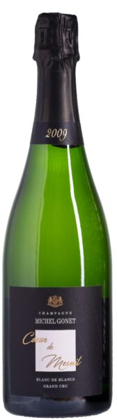 Mousserende: Michel Gonet, Coeur de Mesnil, Blanc de Blancs Grand Cru 2009, Champagne