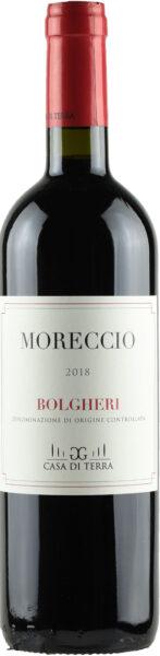 Rødvin: Moreccio 2018, Casa di Terra, Bolgheri