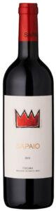 Rødvin: Sapaio 2016, Toscana