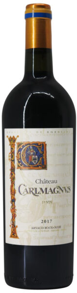 Rødvin: Château Carlmagnus 2017, Arnaud Roux-Oulié, Fronsac