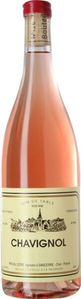Rosévin: Chavignol, Lot 2019, Pascal Cotat, Vin de France