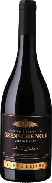 Rødvin: Henri Dubois, Grenache Noir 2019, Sélection Vieilles Vignes Grande Réserve, Oak Aged, Vin de France