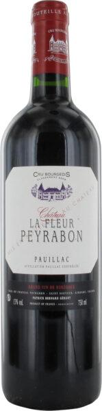 Rødvin: Chateau La Fleur Peyrabon, Cru Bourgeois 2015, Pauillac