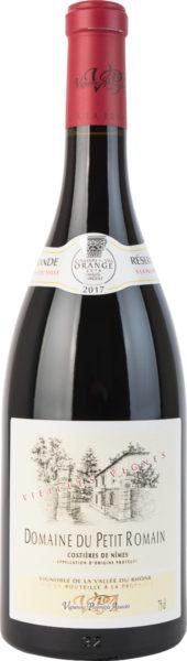 Rødvin: Domaine du Petit Romain, Grande Réserve 2017, Vieilles Vignes, Costières de Nîmes