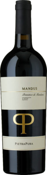Rødvin: Mandus 2019, PietraPura, Primitivo di Manduria