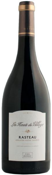 Rødvin: Les Hauts du Village 2012, Ortas, Cave de Rasteau, Rasteau