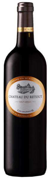 Rødvin: Chateau du Retout, Cru Bourgeois 2016, Haut-Médoc