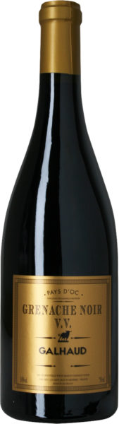 Rødvin: Galhaud, Grenache Noir V.V. 2019, Pays d'Oc
