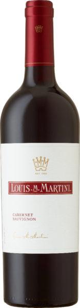 Rødvin: Louis M. Martini, Cabernet Sauvignon 2015, Sonoma County